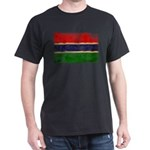 Gambia Flag Dark T-Shirt