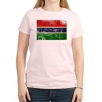 Gambia Flag Women's Light T-Shirt