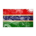 Gambia Flag 38.5 x 24.5 Wall Peel