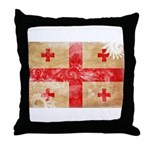 Georgia Flag Throw Pillow