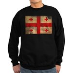 Georgia Flag Sweatshirt (dark)