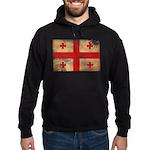 Georgia Flag Hoodie (dark)