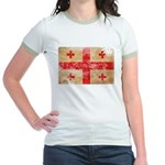 Georgia Flag Jr. Ringer T-Shirt