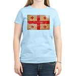 Georgia Flag Women's Light T-Shirt