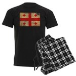 Georgia Flag Men's Dark Pajamas