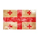 Georgia Flag 38.5 x 24.5 Wall Peel
