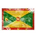 Grenada Flag Postcards (Package of 8)