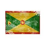 Grenada Flag Rectangle Magnet (100 pack)