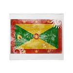 Grenada Flag Throw Blanket