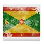 Grenada Flag Tile Coaster