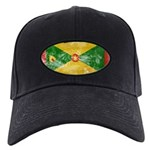Grenada Flag Black Cap