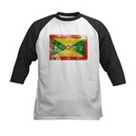 Grenada Flag Kids Baseball Jersey