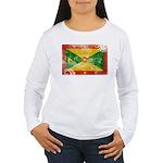 Grenada Flag Women's Long Sleeve T-Shirt