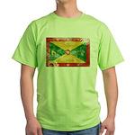 Grenada Flag Green T-Shirt