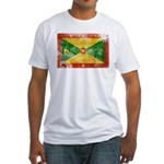 Grenada Flag Fitted T-Shirt