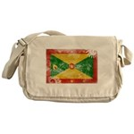 Grenada Flag Messenger Bag