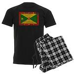 Grenada Flag Men's Dark Pajamas