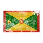 Grenada Flag 38.5 x 24.5 Wall Peel