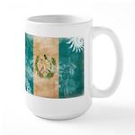 Guatemala Flag Large Mug