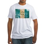Guatemala Flag Fitted T-Shirt