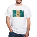Guatemala Flag White T-Shirt