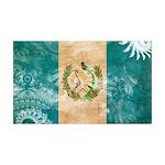 Guatemala Flag 38.5 x 24.5 Wall Peel