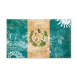 Guatemala Flag 22x14 Wall Peel