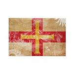 Guernsey Flag Rectangle Magnet (100 pack)