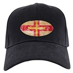 Guernsey Flag Black Cap