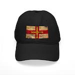 Guernsey Flag Black Cap