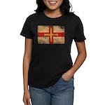 Guernsey Flag Women's Dark T-Shirt