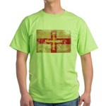Guernsey Flag Green T-Shirt