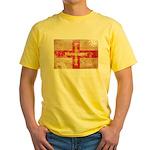 Guernsey Flag Yellow T-Shirt