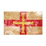 Guernsey Flag 38.5 x 24.5 Wall Peel