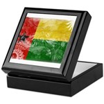 Guinea Bissau Flag Keepsake Box