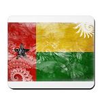 Guinea Bissau Flag Mousepad