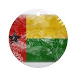 Guinea Bissau Flag Ornament (Round)