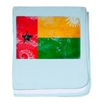 Guinea Bissau Flag baby blanket
