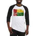 Guinea Bissau Flag Baseball Jersey