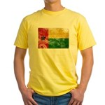 Guinea Bissau Flag Yellow T-Shirt