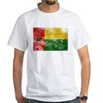 Guinea Bissau Flag White T-Shirt