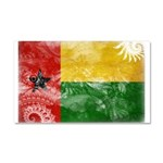 Guinea Bissau Flag Car Magnet 20 x 12