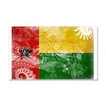 Guinea Bissau Flag Car Magnet 20 x 12
