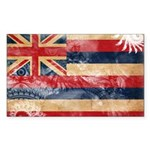 Hawaii Flag Sticker (Rectangle 50 pk)
