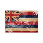 Hawaii Flag Rectangle Magnet (100 pack)