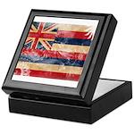 Hawaii Flag Keepsake Box
