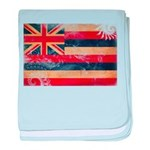 Hawaii Flag baby blanket