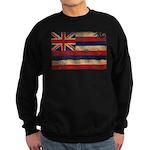 Hawaii Flag Sweatshirt (dark)