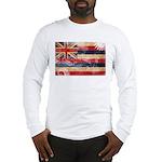 Hawaii Flag Long Sleeve T-Shirt