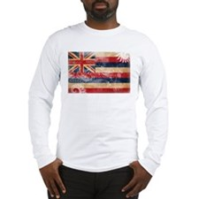 Hawaii Flag Long Sleeve T-Shirt